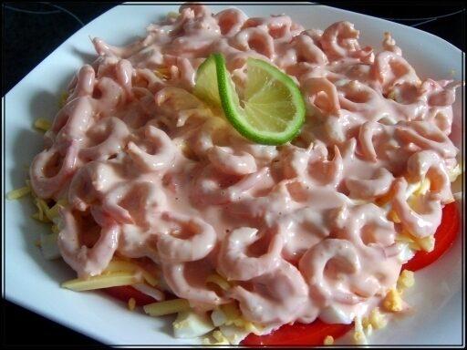 Салат из красная фасоль в томатном соусе рецепт