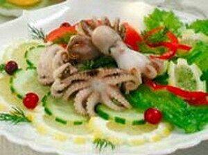 рецепт приготовления осьминога большого