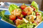 Салат с креветками и авокадо, пошаговый рецепт с фото